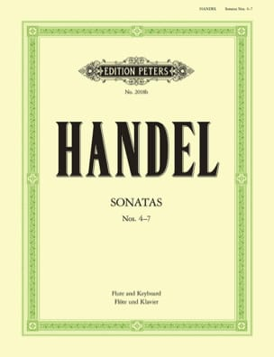 HAENDEL - Flute Sonatas Volume 2 - N ° 4-7 - Sheet Music - di-arezzo.co.uk
