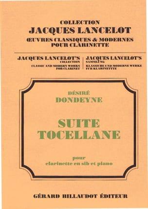 Suite Tocellane - Desiré Dondeyne - Partition - laflutedepan.com