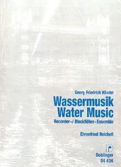 HAENDEL - Wassermusik - Blockflöten-Ensemble - Sheet Music - di-arezzo.com