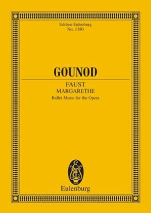Margarethe (Faust) - Charles Gounod - Partition - laflutedepan.com