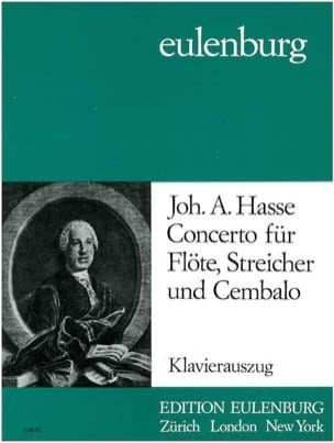 Concerto F-Dur - Flöte Klavier Johann Adolf Hasse laflutedepan