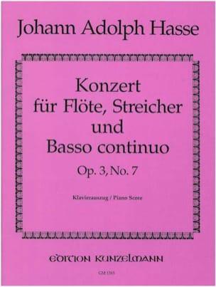 Konzert G-Dur op. 3 n° 7 - Flöte Klavier laflutedepan