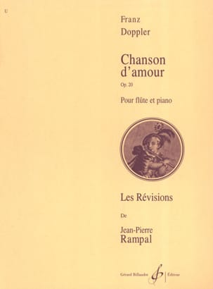 Franz Doppler - Chanson d'amour op. 20 - Partition - di-arezzo.fr