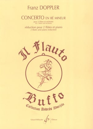 Franz Doppler - Concerto in D minor for 2 flutes - Sheet Music - di-arezzo.com