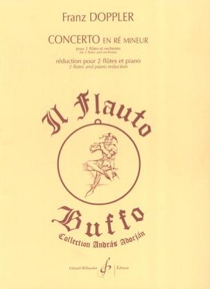 Concerto en ré mineur pour 2 flûtes - Franz Doppler - laflutedepan.com