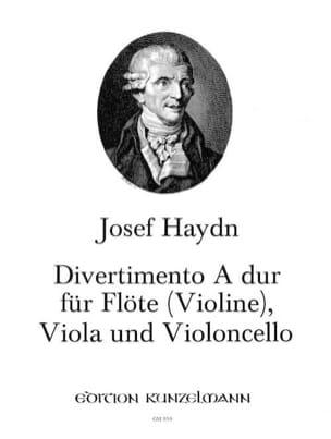 HAYDN - Divertimento A-Dur -Flöte Violine Viola Violoncello - Partition - di-arezzo.fr