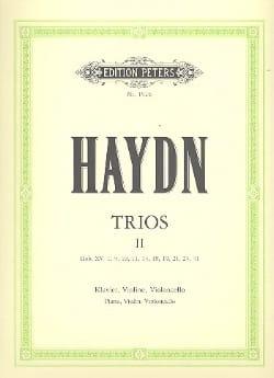 HAYDN - Klaviertrios - Bd. 2 -Stimmen - Partition - di-arezzo.fr