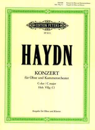 HAYDN - Oboenkonzert C-Dur Hob. 7g: C1 Oboe Klavier - Sheet Music - di-arezzo.com