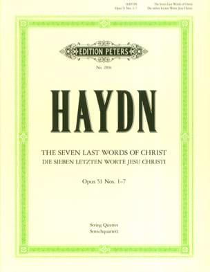 HAYDN - Streichquartette op. 51: Die 7 Letzten Worte Jesus Christi - Parts - Sheet Music - di-arezzo.com