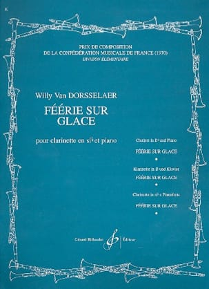 Willy van Dorsselaer - Féerie sur glace - Partition - di-arezzo.fr