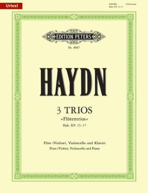 3 Trios Flötentrio Hob. 15 : Nr. 15-17 HAYDN Partition laflutedepan