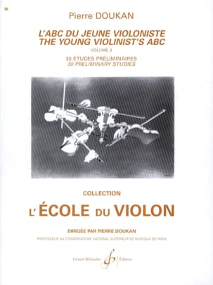 Pierre Doukan - The Abc of the Young Violinist Volume 3 - Partitura - di-arezzo.it