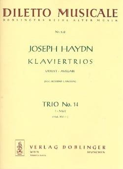 Klaviertrio Nr. 14 f-moll Hob. 15 : F1 -Stimmen - laflutedepan.com