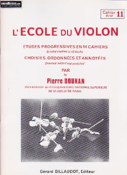 Pierre Doukan - The Violin School Volume 11 - Sheet Music - di-arezzo.co.uk