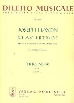Joseph Haydn - Klaviertrio Nr. 20 D-Dur Hob. 15 : 7 –Stimmen - Partition - di-arezzo.fr