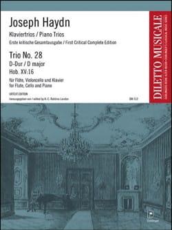 HAYDN - Trio N° 28 en Ré Majeur - Partition - di-arezzo.fr