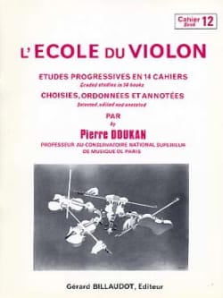 Pierre Doukan - The Violin School Volume 12 - Sheet Music - di-arezzo.co.uk