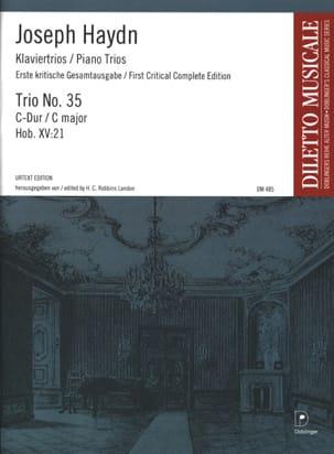 HAYDN - Klaviertrio Nr. 35 C-Dur Hob. 15: 21 - Stimmen - Partition - di-arezzo.co.uk