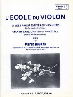 Pierre Doukan - The Violin School Volume 13 - Sheet Music - di-arezzo.com