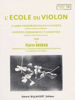 Pierre Doukan - The Violin School Volume 14 - Sheet Music - di-arezzo.com