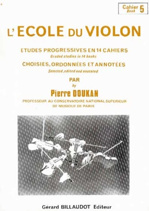 Pierre Doukan - The Violin School Volume 5 - Sheet Music - di-arezzo.co.uk