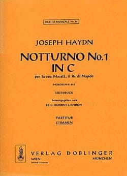 HAYDN - ノトゥルノNr。1 C - デュールホブ。 2:25 - 2AltblockflötenKlavier - 楽譜 - di-arezzo.jp