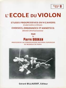 Pierre Doukan - The Violin School Volume 8 - Sheet Music - di-arezzo.co.uk