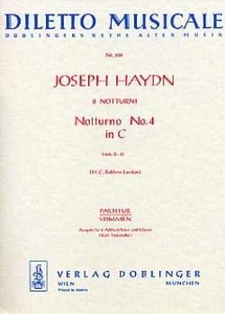 Notturno Nr. 4 C-Dur Hob. 2 : 31 - 2 Altblockflöten Klavier laflutedepan
