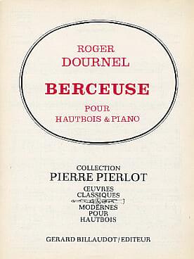 Berceuse - Roger Dournel - Partition - Hautbois - laflutedepan.com