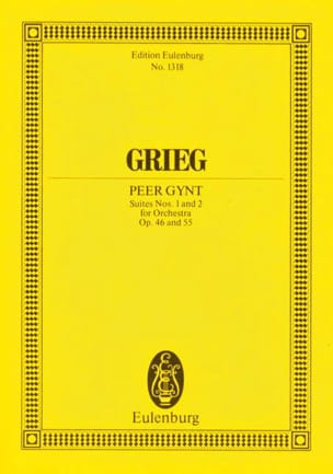 Edvard Grieg - Peer-Gynt Suites 1 - 2 - Partitura - di-arezzo.it