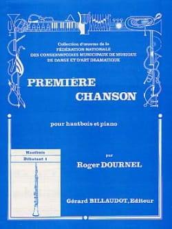 Première chanson - Roger Dournel - Partition - laflutedepan.com