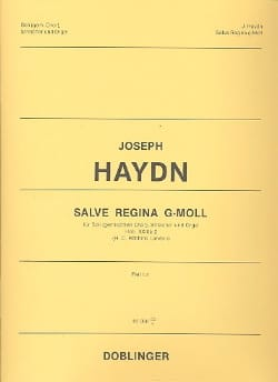 Salve Regina g-Moll - Partitur - HAYDN - Partition - laflutedepan.com