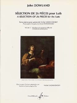 John Dowland - Selection of 26 pieces for lute - Volume 2 - Sheet Music - di-arezzo.com