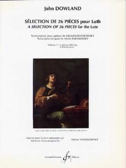 John Dowland - Selection of 26 pieces for lute - Volume 3 - Sheet Music - di-arezzo.com