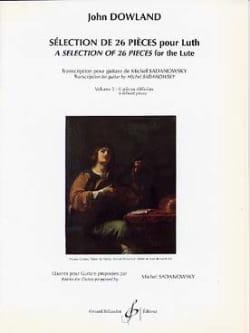 Sélection de 26 pièces pour luth - Volume 3 John Dowland laflutedepan