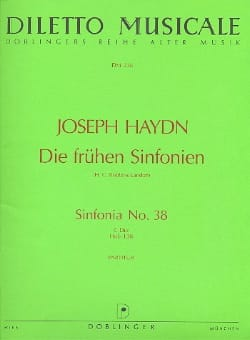 HAYDN - Sinfonia Nr. 38 C-Dur - Sheet Music - di-arezzo.co.uk