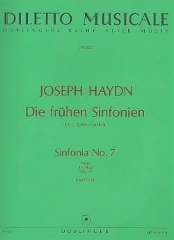 Sinfonia Nr. 7 C-Dur (Le midi) - Partitur - laflutedepan.com