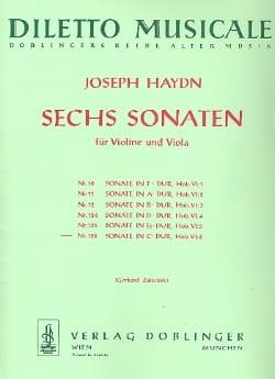 Joseph Haydn - Sonate Nr. 6 C-Dur - Partition - di-arezzo.fr