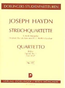 Streichquartett B-Dur op. 64 n° 3 Hob. 3 : 67 – Partitur - laflutedepan.com