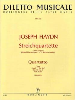 HAYDN - Streichquartett C-Dur op. 33 n° 3 -Stimmen - Partition - di-arezzo.fr