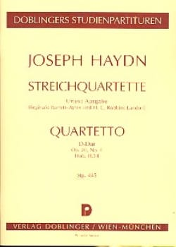 HAYDN - Streichquartett D-Dur op. 20 no. 4 Hob. 3:34 - Partitur - Sheet Music - di-arezzo.co.uk