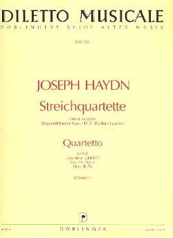 HAYDN - Streichquartett d-moll op. 76 n ° 2 - Stimmen - Sheet Music - di-arezzo.co.uk