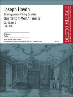 Streichquartett f-moll op. 55 n° 2 -Stimmen - laflutedepan.com