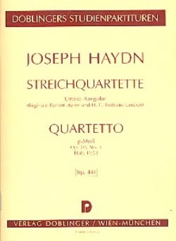 HAYDN - Streichquartett G-Moll op. 20 No. 3 Hob. 3: 33 - Partitur - Sheet Music - di-arezzo.co.uk
