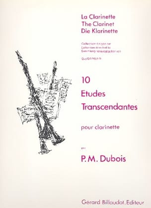 Pierre-Max Dubois - 10 transcendent studies - Sheet Music - di-arezzo.co.uk