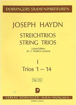 Streichtrios - Bd. 1 (1-14) – Partitur - laflutedepan.com