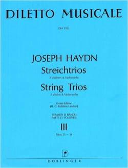 Streichtrios -Bd. 3 : n° 25-34 -Stimmen - HAYDN - laflutedepan.com