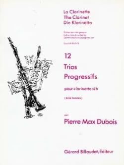 12 Trios progressifs - Pierre-Max Dubois - laflutedepan.com