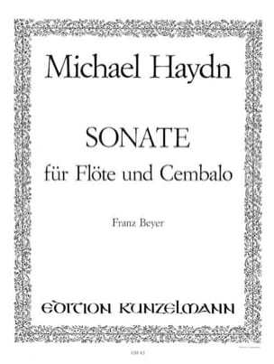 Sonate (G-Dur) – Flöte u. Cembalo - Michael Haydn - laflutedepan.com