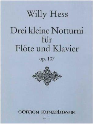 3 Kleine Notturni op.107 – Flöte Klavier - laflutedepan.com